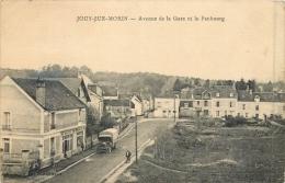 77 JOUY SUR MORIN - Avenue De La Gare Et Le Faubourg - Autres Communes