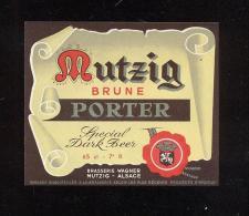Etiquette De Bière   -  Porter  -  Brasserie Wagner  à  Mutzig  (67) - Beer