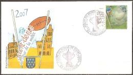 Coupe Du Monde De Rugby-1er Jour 5/09/2007 à Saint-denis-timbre Lenticulaire N°4080 - 2000-2009