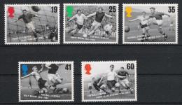 1996 Grossbritannien Mi# 1625-29 ** MNH Fußball Football Soccer Sport EM UEFA - Fußball-Europameisterschaft (UEFA)