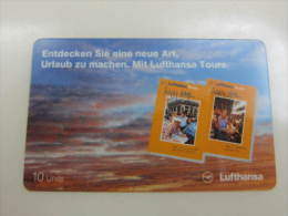 Sprint Prepaid Phonecard,Lufthansa Tours,used