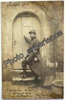 CPA Carte Photo Guerre 14-18 Militaire Prêtre Religion Croix Rouge Red Cross Priest WW1 - Guerre 1914-18