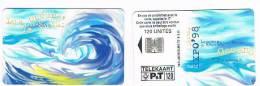 LUSSEMBURGO (LUXEMBOURG) - P&T CHIP - 1998  TS16 LISBOA EXPO 98: LES OCEANS         - USED - RIF. 7952 - Lussemburgo