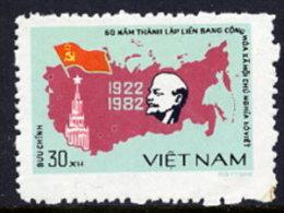 VIETNAM  1982 60th Anniversary Of The Soviet Union MNH / **  Sc. 1247 - Vietnam