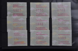 M 331 ++ AUSTRALIA FRAMA LOT  ++ MNH - NEUF - POSTFRIS - Automatenmarken (ATM/Frama)