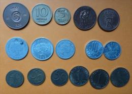 16 PIECES DIFFERENTES - Tunisie-AUTRICHE-NORVEGE - Monnaies