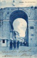 [DC6900] TERAMO - ARCO DI PORTA REALE - Viaggiata 1931 - Old Postcard - Teramo