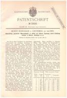 Original Patentschrift - M. Honigmann In Grevenberg B. Würselen ,1885, Wasserdampf - Umwandlung , Dampfmaschine , Aachen - Historical Documents