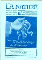 La Nature Revue Des Sciences N°2577 - Les Couleuvres De France - Boeken, Tijdschriften, Stripverhalen
