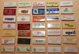 57 Boites D'allumettes Hotels Restaurants France (format 2,4 X 5,5 Cm) - Scatole Di Fiammiferi