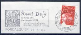 ##B527. France 2004. Raoul Dufy. Fragment. Used - France