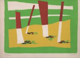 Léon GISCHIA.lithographie Originale  Exemplaire N°199/200.signée Au Crayon De Papier - Lithographies