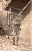 Photo 1915, Cpa  De Militaire En Tenue, ,  (30.16) - War, Military
