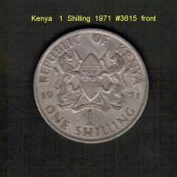 KENYA    1  SHILLING  1971  (KM # 14) - Kenya
