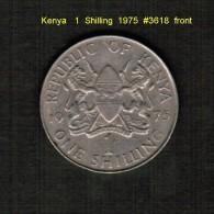 KENYA    1  SHILLING  1975  (KM # 14) - Kenya