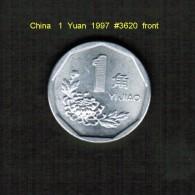 CHINA    1  YUAN  1997  (Y # 330) - China