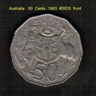 AUSTRALIA    50  CENTS  1983  (KM # 68) - Decimal Coinage (1966-...)