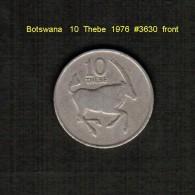 BOTSWANA   10  THEBE  1976  (KM # 5) - Botswana