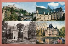 * LOT N°173 De 16  CPM  : Divers Châteaux De France : Voir Tous Les Scans - Cartoline