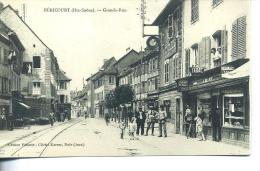 HERICOURT - Grande Rue - Animee - France