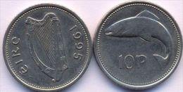 Ireland 10 Pence 1995 AUNC - Irlande