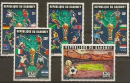 DAHOMEY World Cup Munich 1974 - Coppa Del Mondo