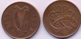 Ireland 2 Pence 1998 AXF - Irlande