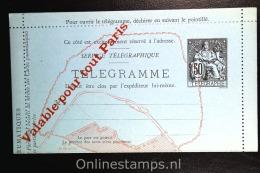 France:  Telegramme  Pneumatique , RK  7 1885 Unused