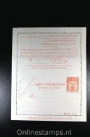 France: Carte Pneumatique , 1965 V 11 Not Used, Smaal Tear At Bottom