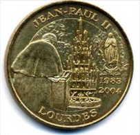 Jean-Paul II - Lourdes 1983-2004 - Monnaie De Paris
