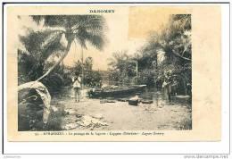 DAHOMEY LE PASSAGE DE LA LAGUNE - Dahomey