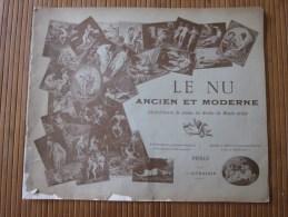 1897 Rare NU Ancien Moderne Chefs-d´oeuvre Toute école Monde Entier Nudisme Nudité Peinture Gravure Aquarelle érotique - Documents Historiques