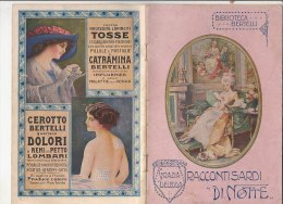 C1295 - Biblioteca Bertelli : Grazia Deledda RACCONTI SARDI DI NOTTE Anni ´20 - Libri, Riviste, Fumetti