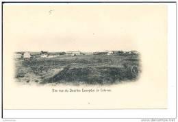 DAHOMEY COTONOU UNE VUE DU QUARTIER EUROPEEN CPA BON ETAT - Dahomey
