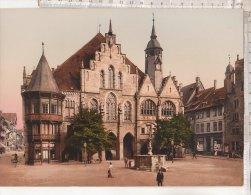 C1360 - FOTOCROMIA PZ - GERMANIA - GERMANY - HILDESHEIM RATHAUS - Hildesheim
