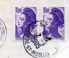2  LIBERTE DE GANDON 10 F - Frankreich