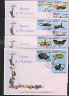 O) 2003 NICARAGUA, INSECTS, SET FDC, XF. - Nicaragua