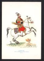 India, Capo D'esercito Di Scian Gehan 1650, A Cavallo - Nicouline, Casa Mamma Domenica - Cavalieri -  Non Viaggiata ## - Non Classificati
