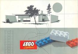 LEGO SYSTEM - CATALOGUE - 521 - 520 - 519 - 518 - Catalogs