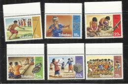 TOKELAU ISLANDS 1983 FOLKLORE TRADITIONAL GAMES FOLCLORE GIOCHI TRADIZIONALI MNH - Tokelau