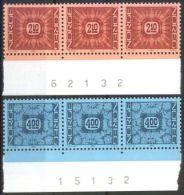 NORWEGEN 1986 MI-NR. 942/43 3x Mit Bogennummer ** MNH (99) - Norwegen