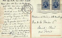 1328  Postal Gent  1933 Bélgica - Bélgica