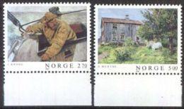 NORWEGEN 1987 MI-NR. 979/80 ** MNH (99) - Norwegen