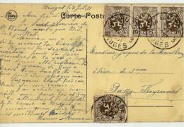 1329  Postal Brugge Bruges 1931  Bélgica - Bélgica