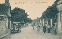 ESCORPAIN  -  Café Guélodé, Et Le Carrefour - Autres Communes