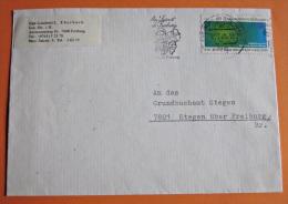 Brief Marke Ganzsache BRD Deutschland 1979 Nobelpreisträger EF - BRD