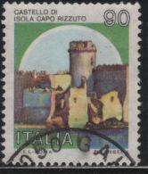 21235  Italia 1980  Castelli D´Italia  Castello Di Isola Di Capo Rizzuto   £  90  Usato - 1971-80: Usati