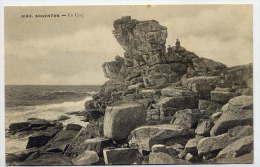 LADUNVEZ--ARGENTON--Le Coq (rocher)--animée--n°5144 éd Villard---Belle Carte .................  à Saisir - France