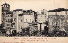 [DC6935] VERCELLI - CASTELLO ABITATO NEL 1400 DAI DUCHI DI SAVOIA - Old Postcard - Vercelli