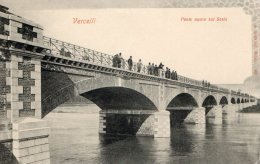 [DC6939] VERCELLI - PONTE NUOVO SUL SESIA - Old Postcard - Vercelli